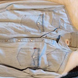 Levi denim shirt Western